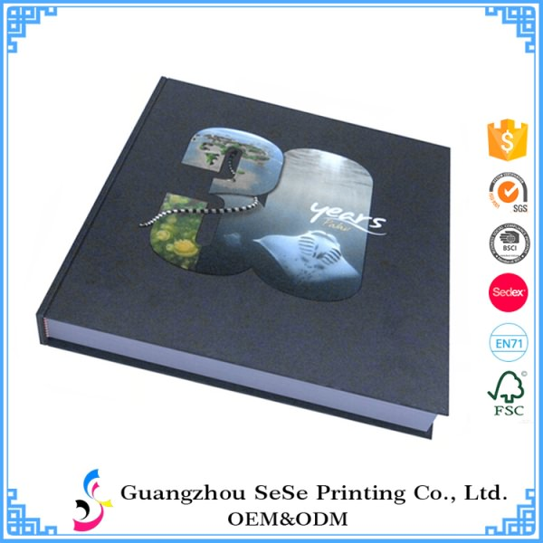 Customise made Hardcover Full Color UV printing art book