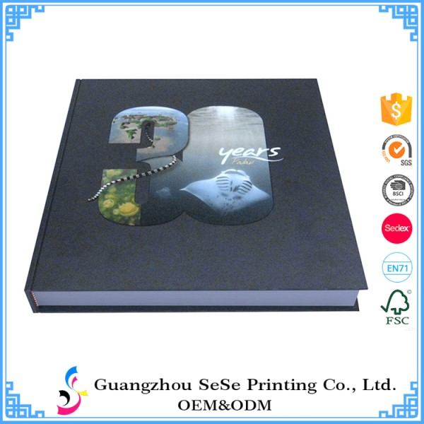Customise made Hardcover Full Color UV printing art book 2