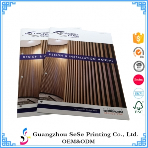 Direct Factory cheap catalogue bruchure booklet printing