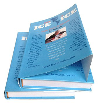 Custom Cheap Hardcover book printing with dust jacket