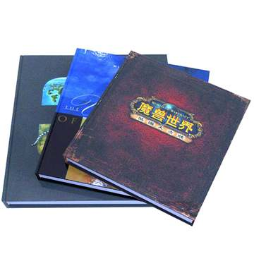 Custom Printing Matt Lamination Hardcover Book (3)