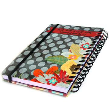 Custom spiral Paper exercise notebook printing
