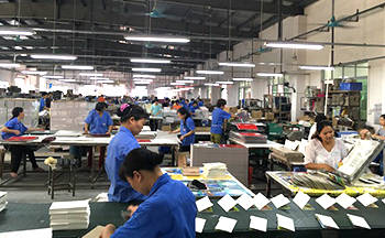 Printing Luxury recycled plastic spiral bound notebook printing services
