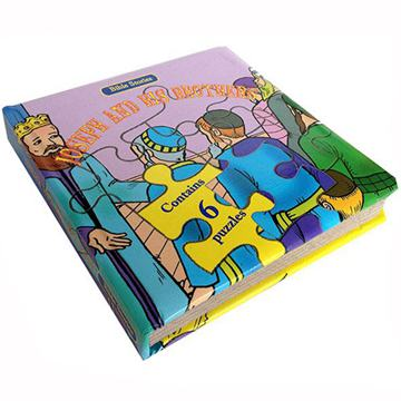 Custom Education children Puzzle books printing