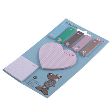Custom Shaped Sticky Note PadNotepad