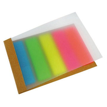 Custom combined sticky note emo pad printing