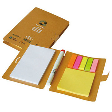 Custom combined sticky note pad memo pad printing