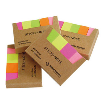 Custom combined sticky note pad memo pad prints
