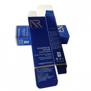Custom luxury paper packaging box printing