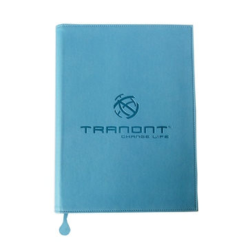 Luxury recycled plastic spiral bound notebook printing services