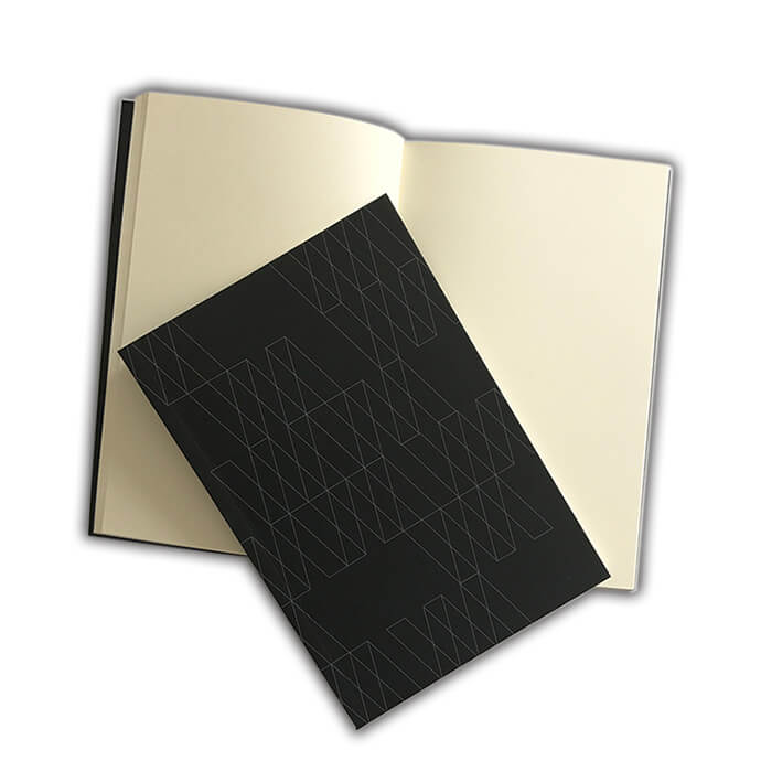 blank softcover notebook diary printing cheap