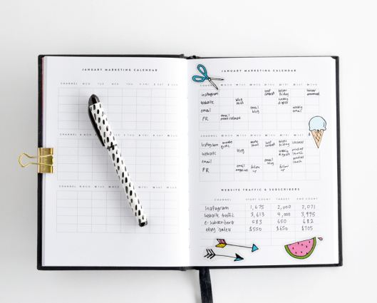 custom print notebook made to order for any size