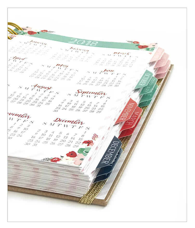 Day Planner Spiral Custom - Spiral School Notebook 2018