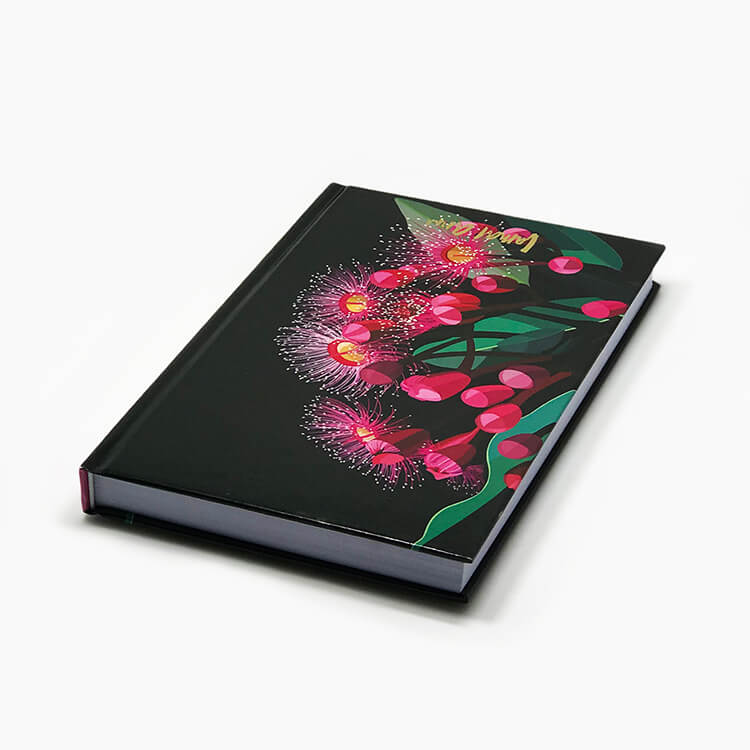 Office Promotional Custom Hard Cover Notebook