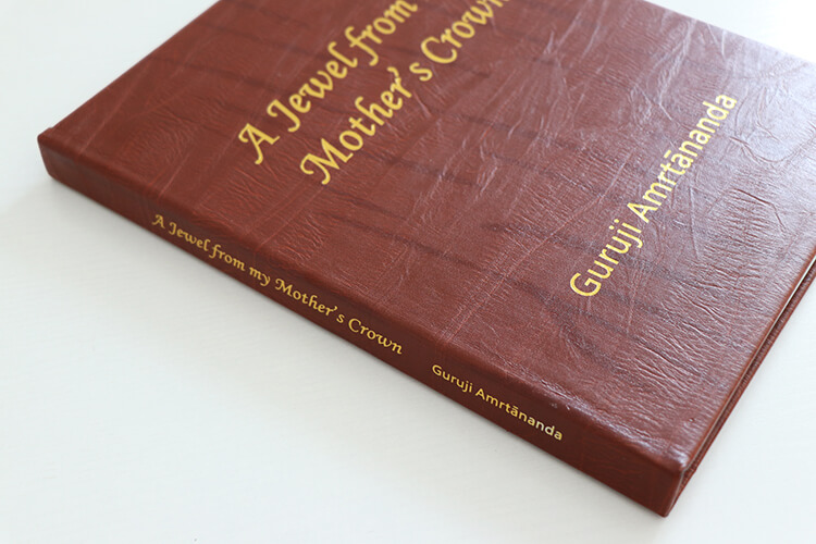 Gold Foil Cover Book - Cheap Leather Book Printing Services
