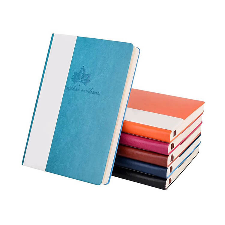 Customized Pu Leather Planner - Leather Cover Notebook Printing 2020