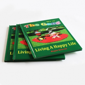 Customized Colorful Books Hardcover Kids Story Book