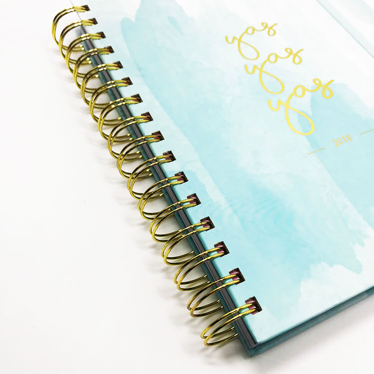 12-Month Weekly Notebook Planner - Custom Your Design 2020 (1)