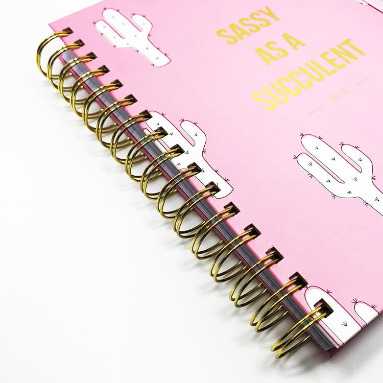 12-Month Weekly Notebook Planner - Custom Your Design 2020 (2)