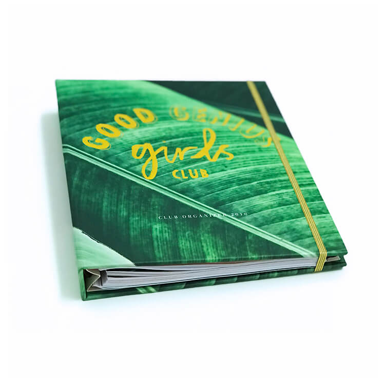 Metal Wire o binding notebook eco friendly