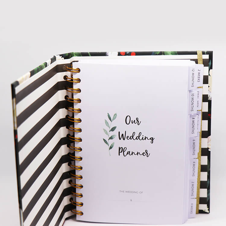 Custom Agenda Planner - Notebook Printing Services high quality