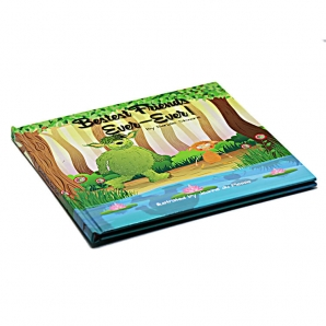 Make Your Own Children's Book - Personalised Perfect Bound Story Book Printing