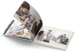 custom photo book printing service
