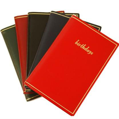 custom leather planner notebook printing china