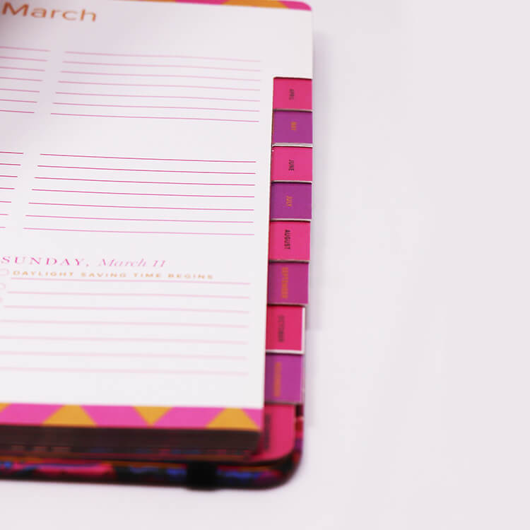 Day Planner Custom Printed Happy Weekly Planner Journal Agenda high end.JPG