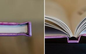 Round And Square Spine of Different Binding For Hardcover Book Printing